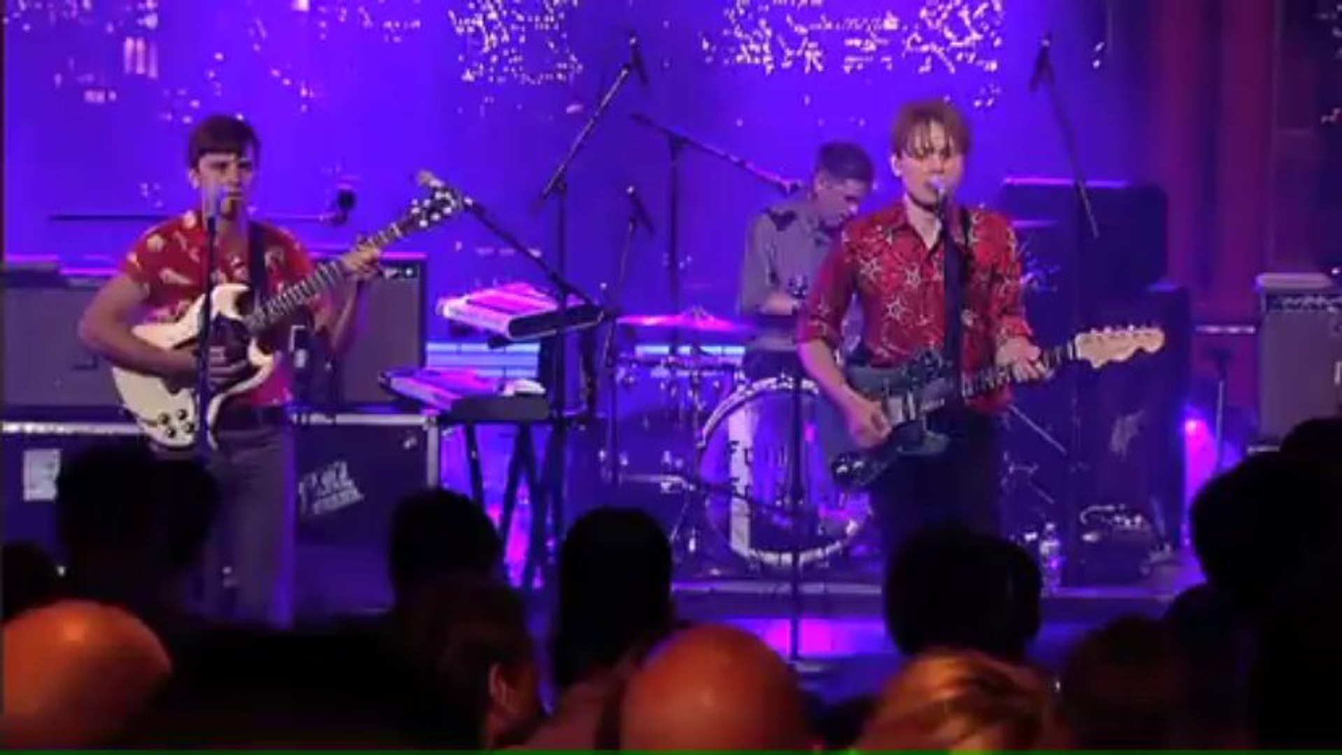 Franz Ferdinand Live on Letterman [Full Webcast]