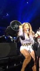 Beyoncé : ses cheveux se coincent dans un ventilateur !