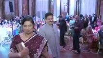 Groom's Parents Entrance at An Indian Wedding Reception Radisson Plaza Hotel Toronto Mississauga