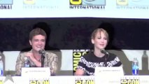 Jennifer Lawrence talks about gross kissing scenes with Josh Hutcherson