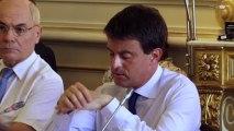 Lancement de la concertation sur la réforme de l'asile : Intervention de Manuel Valls