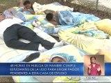 Seis estudiantes realizan huelga de hambre en la CEV para exigir pagos a Pdvsa