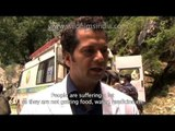 Villagers and Doctor speak about flood relief camp in Uttarakhand