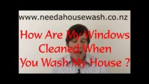 House wash FAQs: How Do You Wash My Windows On A House Wash Job
