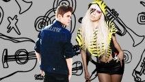 Lady Gaga Leads Justin Bieber - Lady Gaga Beats Justin Bieber - Lady Gaga Justin Bieber Fight