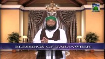Dars of Faizan e Ramazan Ep 12 - Blessings of Taraweeh - Blessings of Ramadan
