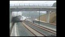 Les images de l'accident de train à Saint-Jacques-de-Compostelle