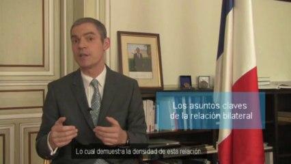 Entretien avec l'Ambassadeur de France en Espagne (Madrid - juillet 2013)