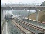 La vidéo du déraillement du train à Saint-Jacques-de-Compostelle !