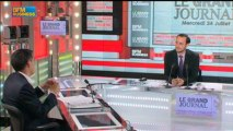 Olivier Faure, député socialiste de Seine et Marne dans Le Grand Journal - 24 juillet 6/6
