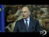 Letta: visiterò truppe in Afghanistan il 12 agosto - VideoDoc. Il premier incontra il segretario Nato: apprezzamento per noi