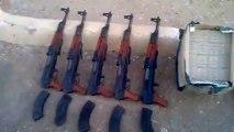 . ضبط أسلحة مهربة بالمنطقة الغربية العسكرية
