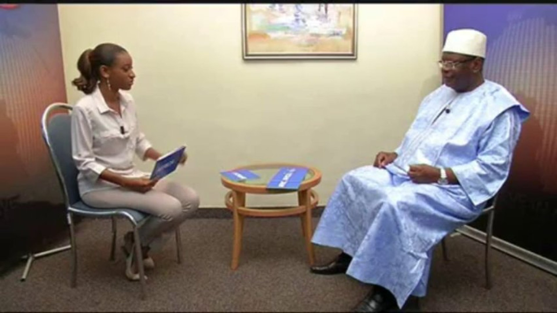 L'INTERVIEW - Ibrahim Boubacar KEITA - Mali