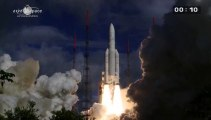 Liftoff Ariane 5 with Alphasat on board (25/07/13)