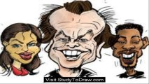 how to draw caricature in illustrator