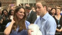 First glimpse of the royal baby - George Alexander Louis