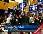 İstanbul Film Festivalinde Emek Sineması Protestosu