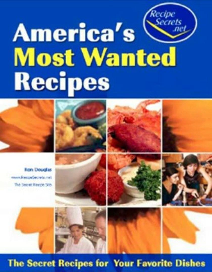 Recipe Secrets Review + Bonus Restaurant Recipe Secrets ( Copy Cat Recipes )