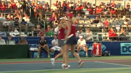 World TeamTennis Highlights: Boston Lobsters vs Washington Kastles July 25, 2013