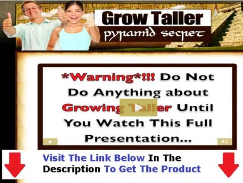 Grow Taller Pyramid Secret Review + Grow Taller Pyramid Secret