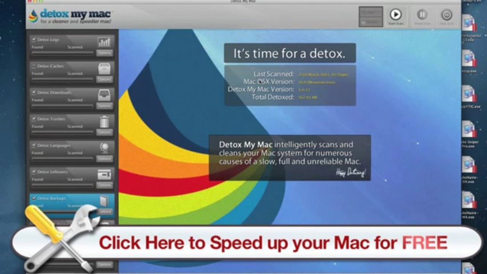 Mac Disk Cleanup - Detox My Mac will Help You with Mac Disk Cleanup