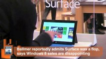 Ballmer Admits What We All Knew: Microsoft Built Far Too Many Surfaces