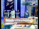 16th Iftar Zair Zaber Paish Part 1 in Amaan Ramazan with Aamir Liaquat 1434h 26-7-2013 -006