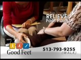 Foot Pain Relief Good Feet Store Cincinnati plantar fasciitis arch supports orthotics heel pain