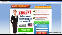 Real Writing Jobs Get Paid to Write - Watch This First!