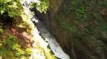 Les planches en montagne, les gorges de langouette,  2013