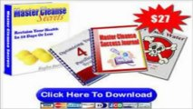 master cleanse secrets review:How I lost 17lbs IN 10DAYS with master cleanse secrets