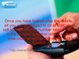 Cell Phones Reverse Number Lookup Phone Detective Service   YouTube