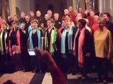 Col canto en concert avec Lapurtarrak à Ste-gemmes-sur-Loire - Hegoak - 10 mai 2008