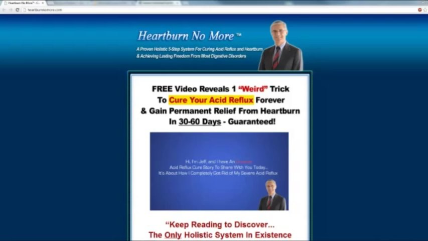 How to Stop Heartburn – Heartburn No More Review