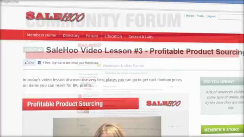 Salehoo –  Get the HOT SELLING  Items from Trusted Suppliers