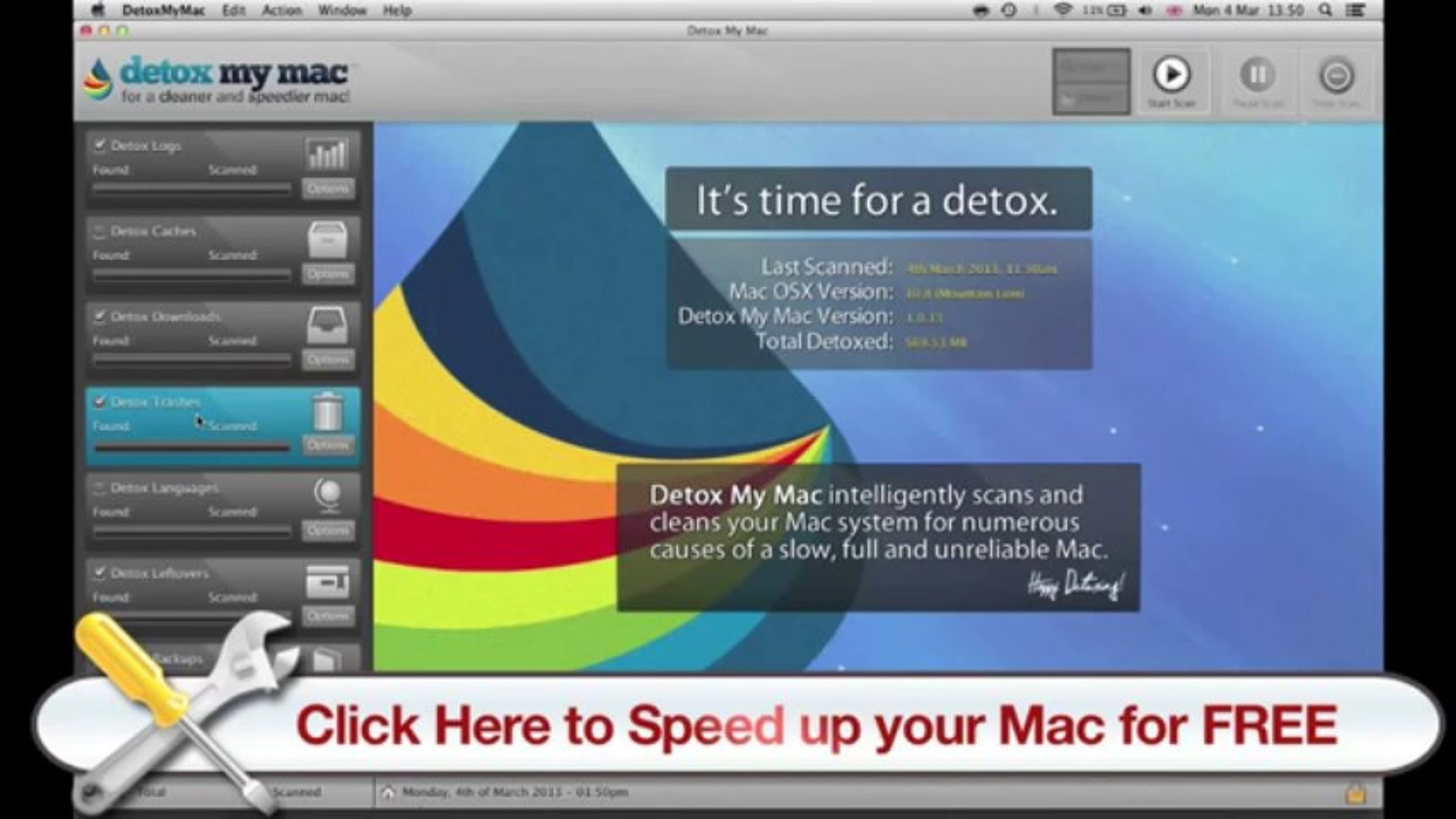 How to Speed Up Your Mac - Detox My Mac will Show You How to Speed Up Your Mac