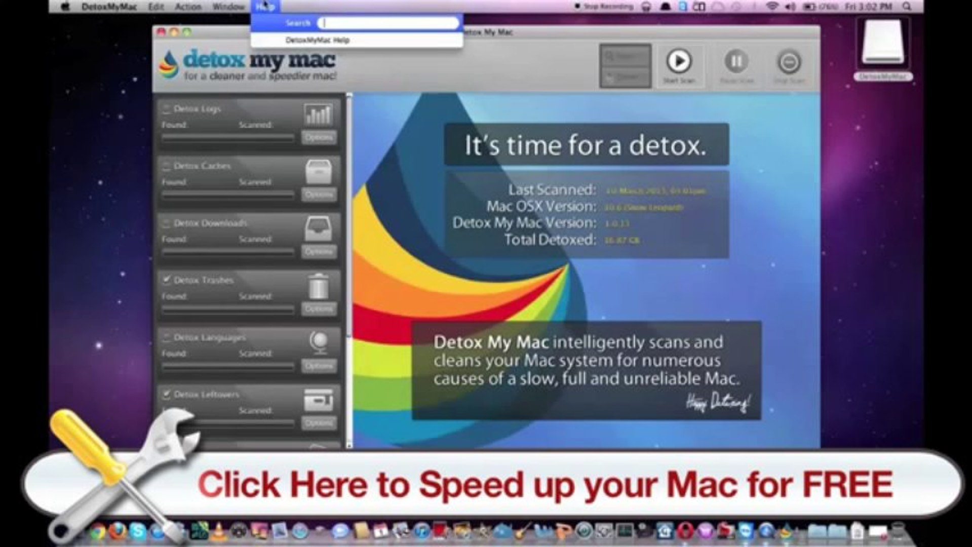 How To Speed Up My Mac - Detox My Mac Will Help You Speed Up Your Mac!