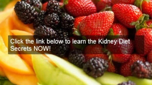 Chronic kidney disease treatment-kidney diet secrets great diet for chronic kidney disease treatment