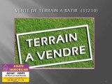 VENTE TERRAIN A BATIR CONSTRUCTIBLE 33210 LANGON GIRONDE