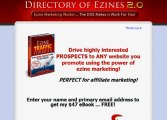 Ad Blaster - Directory Of Ezines 2.0 - Direct Traffic (200,000 people) To Your web site