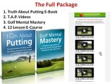 Golf putting tips and tricks - improve your golf putting video lessons
