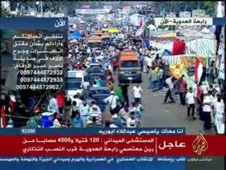 """""""Nous ne voulons plus aucun copte, ni aucune église sur le sol égyptien"""" menace un Pro-Morsi en direct sur Al Jazeera"""