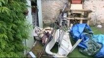 Orages : mini-tornades et déluge en Normandie