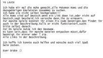 Alle Pokemon Roms,alle auf Deutsch und Emulatoren -