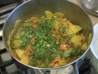 Aaloo ki Bhujiya Recipe