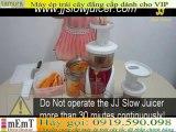 Máy ép trái cây cao cấp ][ Making Pumpkin Papaya Juice with JJ Slow Juicer]