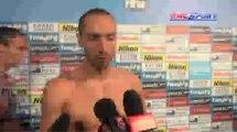 Mondiaux de Barcelone / 100m dos : Stravius Vs Lacourt - 29/07
