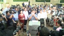 Cambodian opposition rejects Hun Sen election win