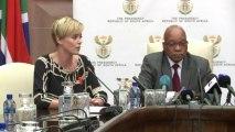 Charlize Theron en Afrique du Sud pour lutter contre le sida