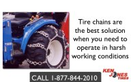 Tractor Tire Chain | Double Ring | Montpelier, VT | 1-877-844-2010